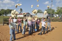 Cowboy_challenge_hats_a_flyin